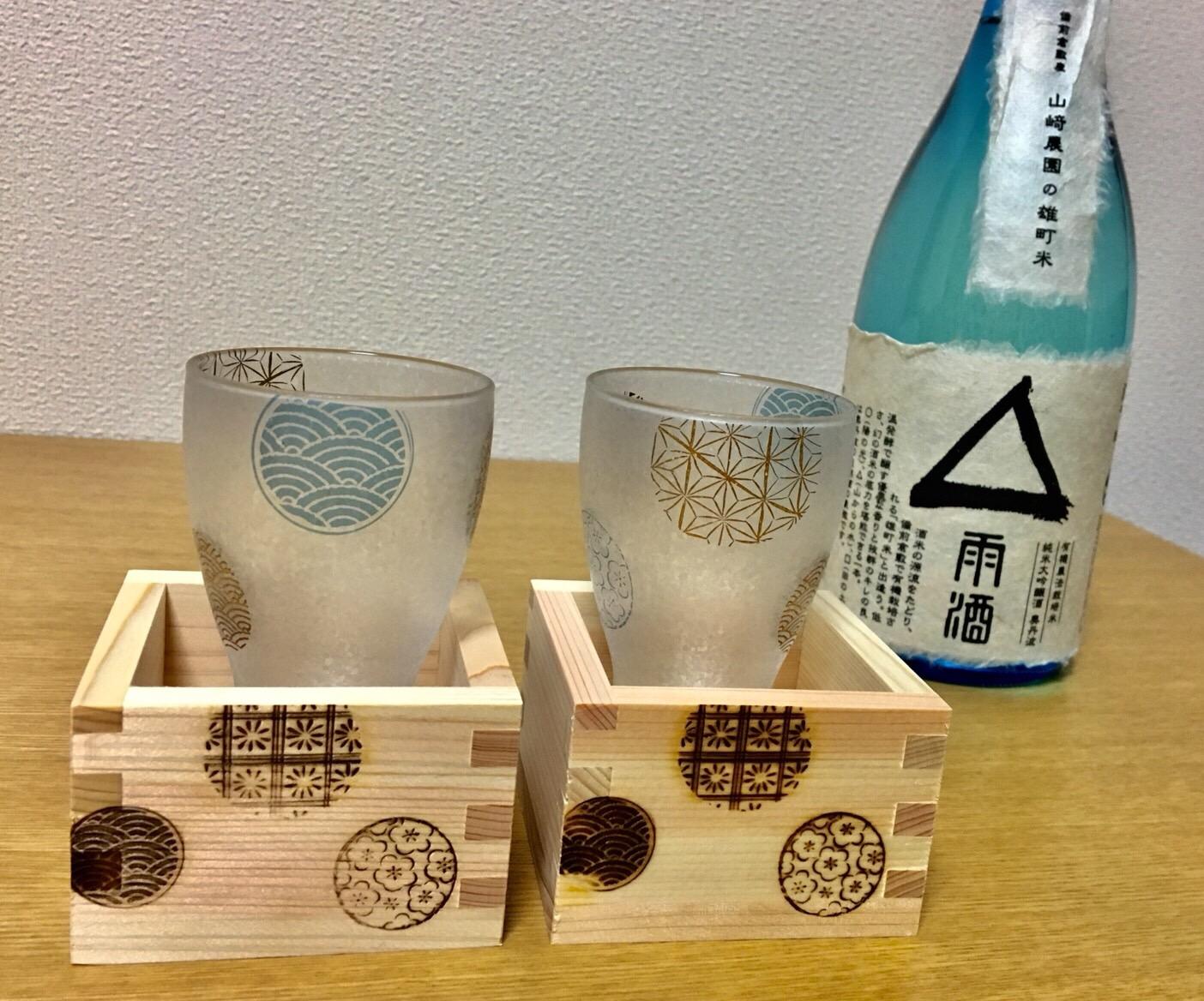 日本酒と升