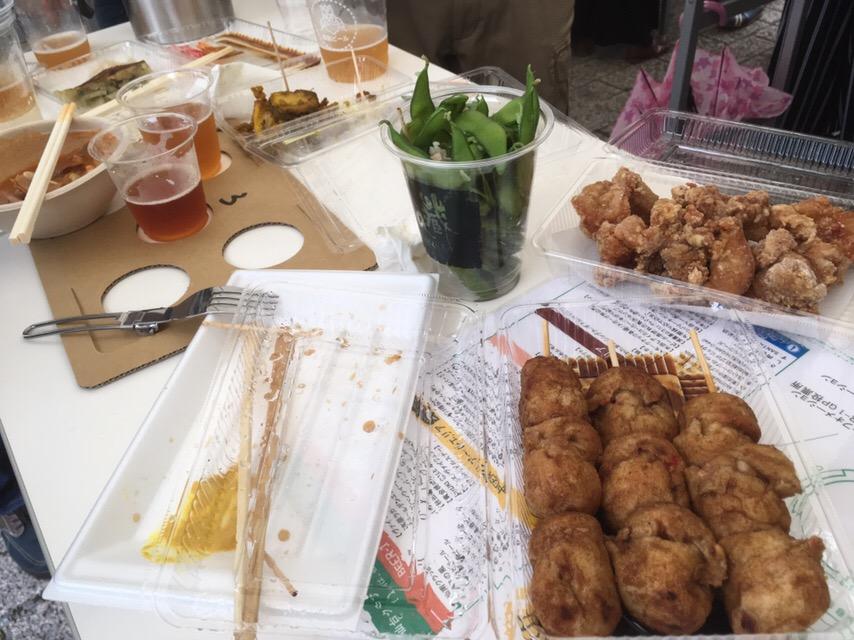 仙台クラフトビールフェスティバル食べ物